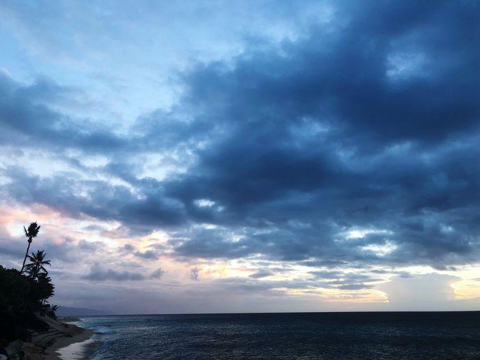 Beach Cloud - Sky Sky Sea Water Beauty In Nature Scenics - Nature Horizon