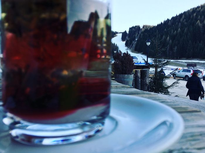 Snow way in Folgaria Real People Food And Drink Table Day Men Outdoors Freshness One Person Nature Food Sky Close-up Water People EyeEmNewHere