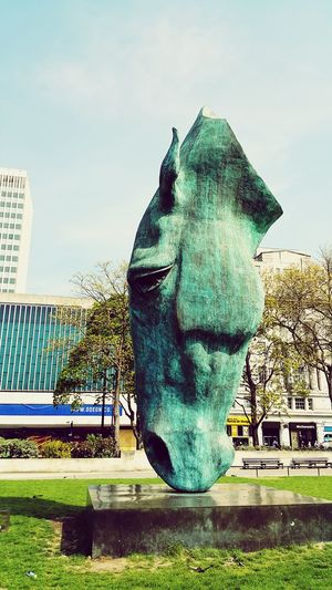 Hyde Park, London Horse Photography  Art Green HorseHeadSculpture Monument EyeEm Pbotography Hello World Check This Out