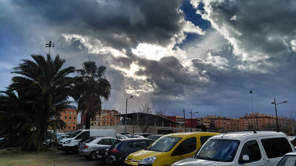 Cloud - Sky Dramatic Sky Storm Cloud Valencia, Spain Cabanyal Amenaza Tormenta Weather Tormenta