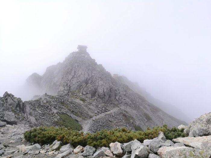 立山 雄山神社 Mautain