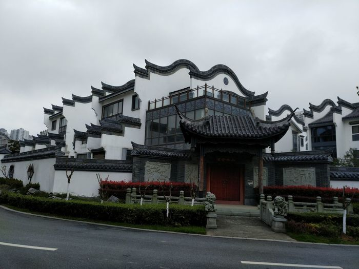 Architecture Built Structure Edenmandom Taking Photos Hanging Out Mobile Phone Photography Nubia Z11 Black Gold Mobile Phone Traditional Building in Anhui Province, China.