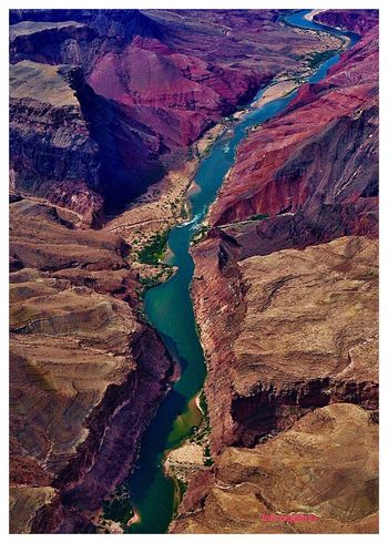 Grand Canyon 💫✨🌄 Colorado River Geography Trip Transfer Print Auto Post Production Filter No People Nature Beauty In Nature Tranquil Scene Go Higher Day Rock Environment Scenics - Nature Tranquility Land Full Frame Landscape Non-urban Scene Water Backgrounds Rock - Object High Angle View Outdoors