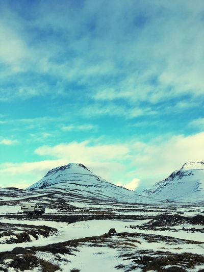 Great View Great Place Mountains Cold Snow Iceland_collection Iceland116
