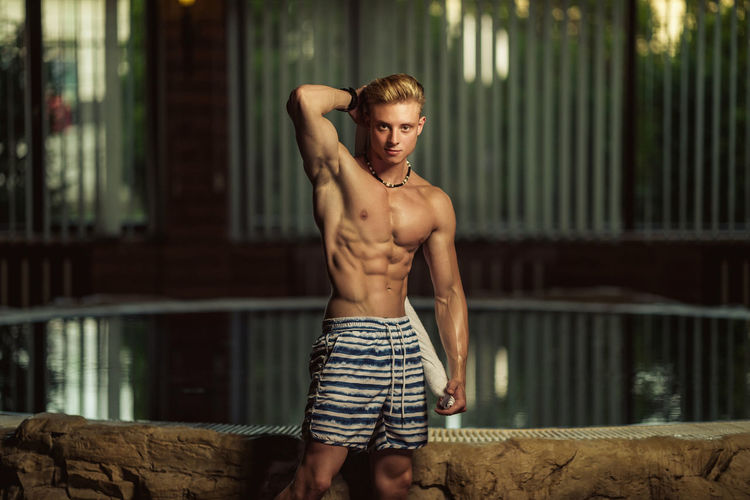 HealtyLifestyle Light Blond Hair Fitness Fitnessmodel Healthy Eating Lights And Shadows Muscle
