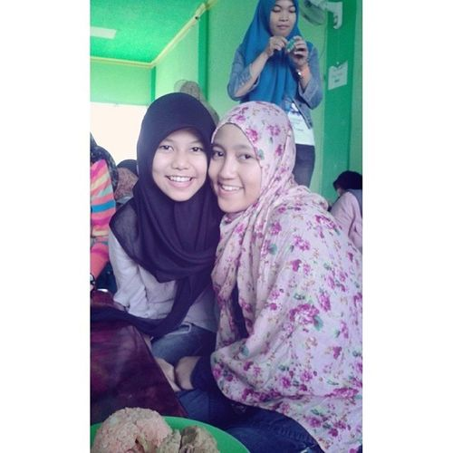 Foto sama yang ulang tahun nih :3 HAPPY BIRTHDAY VIA :** Instagram Ariendhiiya