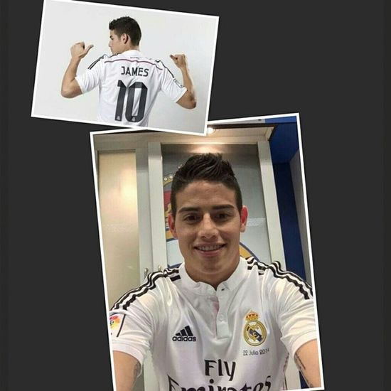 ...everybody has their own addiction, and mine has happened to be you. :) Forever Jamesrodriguez Realmadrid