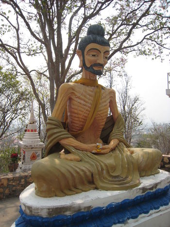 Art Art And Craft Buddha Building Exterior Carving - Craft Product Creativity Human Representation Low Angle View Place Of Worship Religion Sculpture Sky Spirituality Spotted In Thailand Statue Temple - Building Tree
