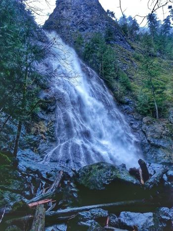 New Edit, Old Photo HDR Vacation Washington Travel Photography Waterfall Check This Out Outdoors Water