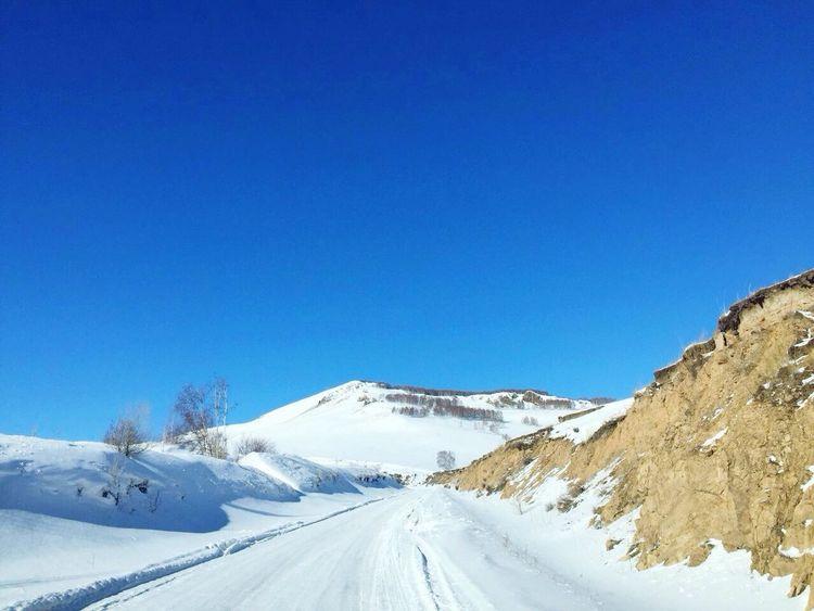 Sunny☀ Sunny Day Colorful Wintertime My Eyem Photos Winter Wonderland Snow ❄ Snow 冬日