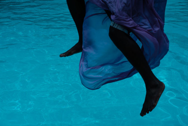 Levitate! Adult Blue Body Part Clothing Human Body Part Human Leg Leisure Activity Lifestyles Low Section Nature One Person Pictureoftheday Pool Real People Sea Swimming Pool Underwater Water Women Analogue Sound