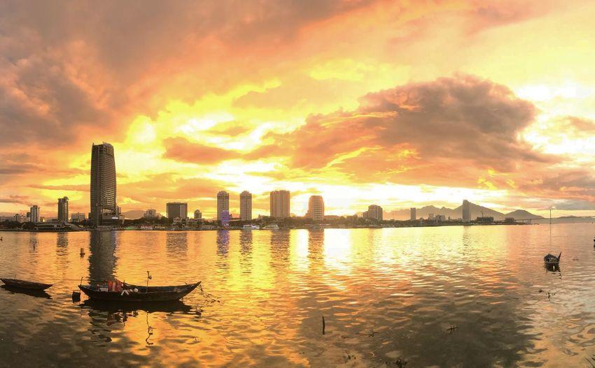 Sunset in Da