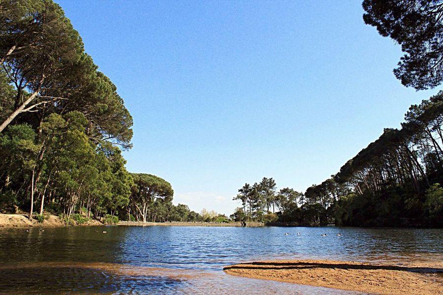 Fotografia tirada na Lagoa Azul em Cascais, Portugal Fotografiapaisagem Paisagem Lagoa Azul