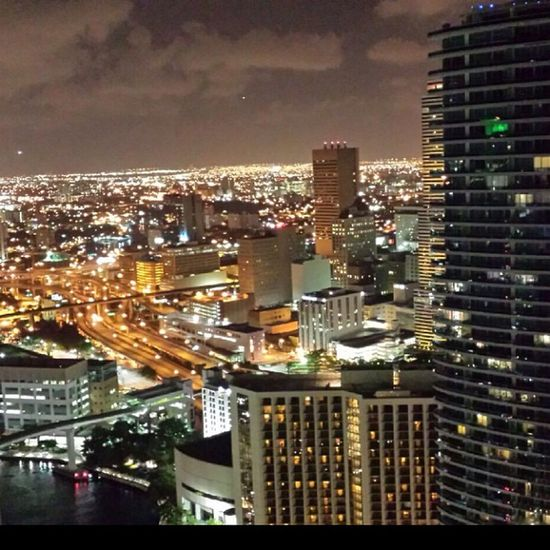 There is nothing more poetic and terrible than the skyscrapers' battle with the heavens that cover them. 46th Floor View Vemma  icon beautiful city lights nofilter night brickell success revolution ypr keep pushing skyscrapers miami florida downtown high cloudy