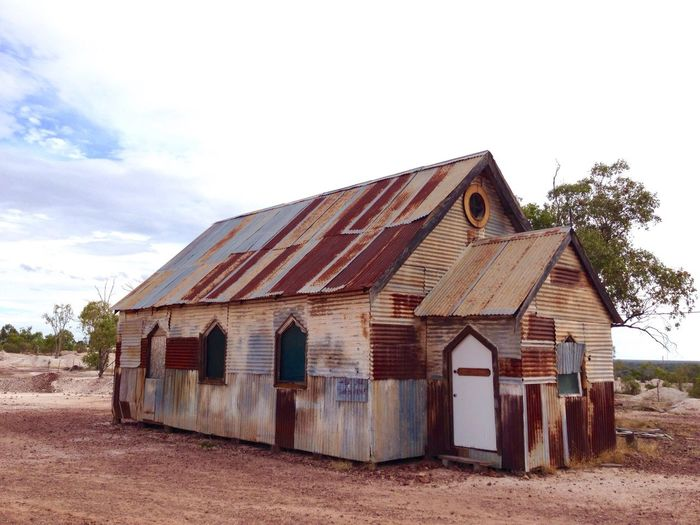 Hut House Mining Metal
