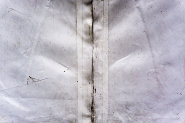 Berlin, Germany, September 22, 2018: Close-Up of Zipper of Event Tent Berlin Germany 🇩🇪 Deutschland Color Image Horizontal Outdoors No People Full Frame Backgrounds Pattern Day Close-up White Color Textured  Abstract Tarpaulin Canvas Event Tent Zipper Commercial Event Exhibition Protection Safety Security Tarp Waterproof