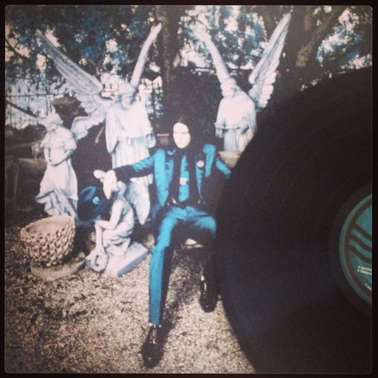 "Now spinning Jack White ""Lazaretto"" Vinyl My Vinyl Collection Music Jack White"