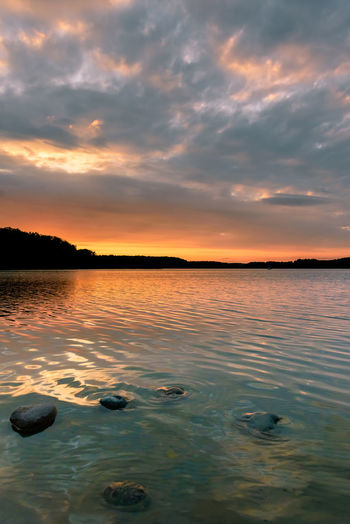 Lake Lakeview Clouds Cloudy Outdoors Nature Dramatic Sky Cloud_addict Nature_addict Landscape Moody Peaceful Tranquility HDR Water Sunset Outdoor Pursuit Reflection Beauty Sky