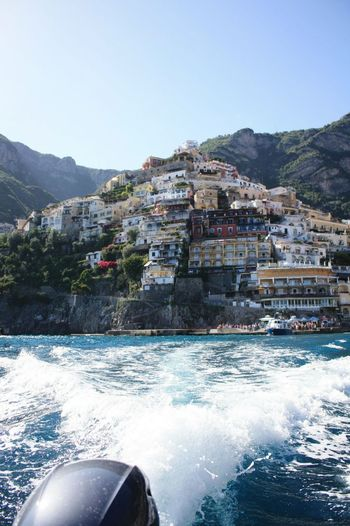 The Essence Of Summer Positano By Sea Amalfi Coast Funtimes Boat Ride Holiday Italy❤️ Water Sommergefühle Breathing Space Done That.