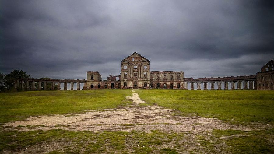 Architecture Built Structure Castle Ruin Cloud - Sky History Mobilephotography