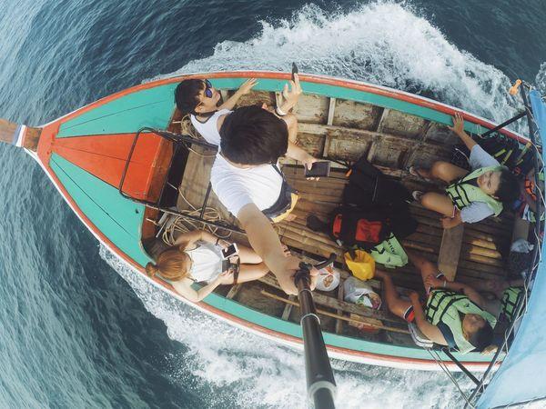 ล่องเรือ ออกเล ทะเลแสนงาม เรือหางยาว หลีเปะ ไทยเที่ยวไทย First Eyeem Photo