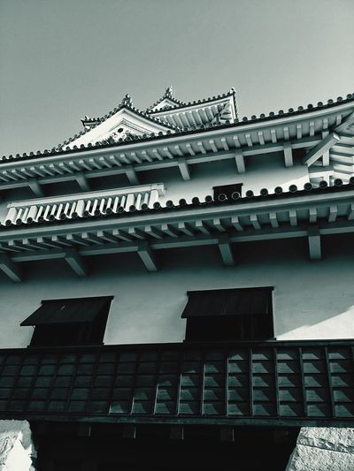 Naghamacastle Nagahama Castle Black & White Blackandwhite Photography Ultimate Japan