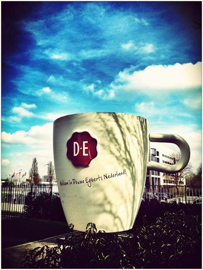 Have Coffee With Me!!! You Think It's Big Enough? Douwe Egberts Utrecht