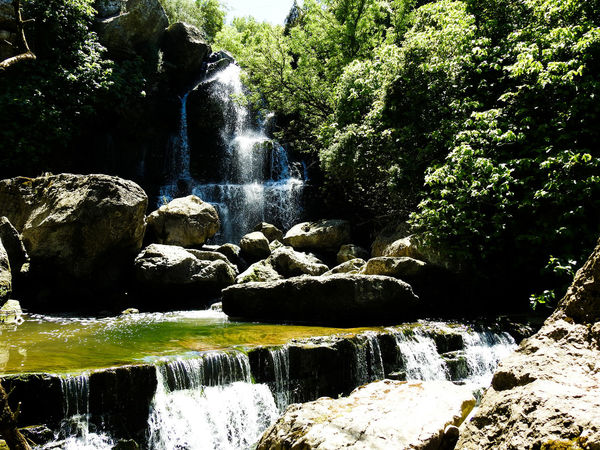 The Great Outdoors With Adobe Cascade Waterfall Riffle Sintra Portugal Nature Beauty In Nature