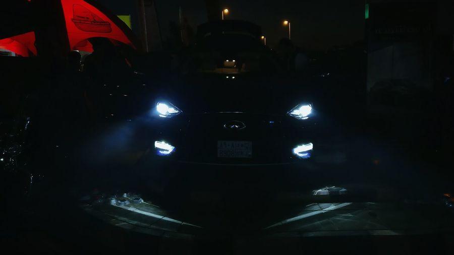 Infiniti Q30Drive Q30 Illuminated Night Saudiarabia Lowlightphotography Beautiful Photooftheday Love ♥ 2017 Crossover