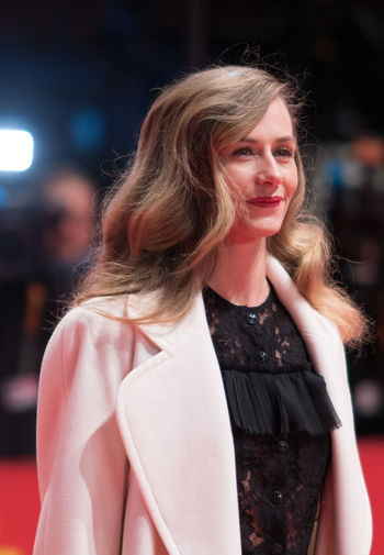 Berlin, Germany - February 24, 2018: Belgian actress Cecile de France attends the closing ceremony during the 68th Berlinale International Film Festival Berlin at Berlinale Palast AWARD Closing Ceremony Film Festival Portrait Of A Woman Woman Actress Arts Culture And Entertainment Beautiful Woman Belgian  Berlinale Berlinale 2018 Berlinale Festival Berlinale2018 Cecile De France Entertainment Entertainment Event Focus On Foreground Looking At Camera Mass Media One Person Portrait Posing Posing For The Camera Red Carpet Red Carpet Event