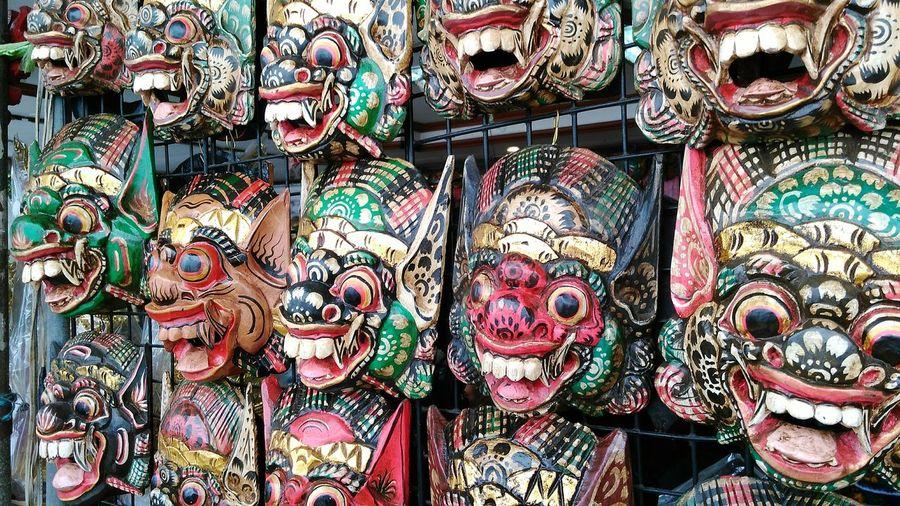 khon masks Wheninbangkok Culture And Tradition Artistic Piece Handmade