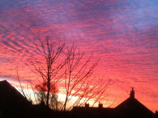 Sunrise in Tyldesley