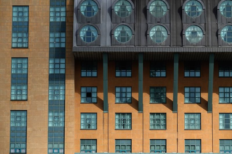 Antwerpen Modern Architecture Window Built Structure Building Exterior Architecture Building No People City In A Row Residential District Glass - Material Backgrounds Pattern Repetition Façade Low Angle View Full Frame Outdoors Day Side By Side