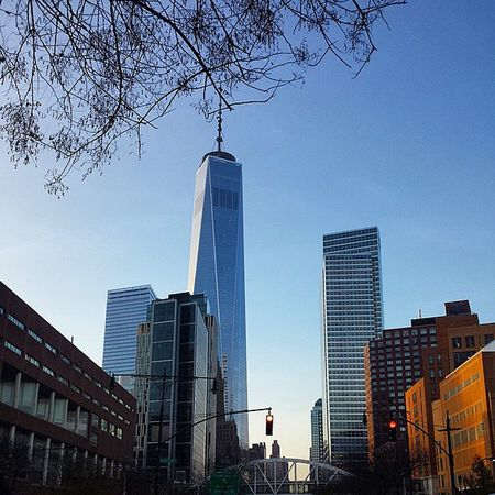 Nycprimeshot Nyclovesnyc Icapture_nyc NYC Manhattan WTC WorldTradeCenter Grammaster Goodmorning