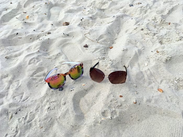 What Who Where Sand Beach High Angle View Vacations Outdoors Day No People Nature Enjoy The New Normal Holiday Beach Photography Beach Life Sunglasses Exploring Style My Year My View