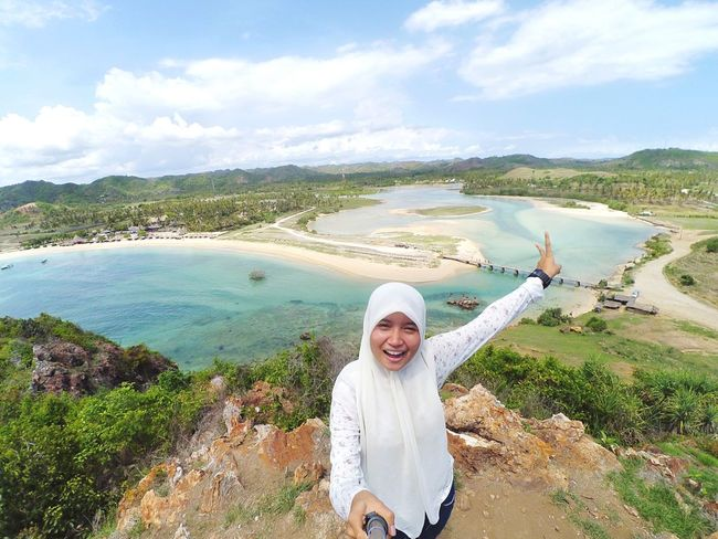 Welcome 2016.. Goodbye 2015 :D Eyemphotography EyeEm Gallery Relaxing Trip Holiday Explorelombok Wonderful_places Amazing View LoveNature Indonesia_photography Segerbeach Beautiful Nature