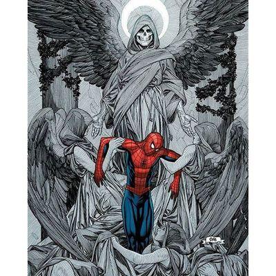 Bela arte! Theamazingspiderman Homemaranha Comics Marvelcomics