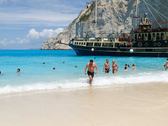 Zakyntos, Greek island RePicture Travel That's Me Enjoying Lif Beach Photography