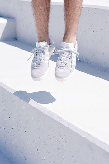 Out Of The Box Concrete Human Leg Low Section Shoe Human Foot Human Body Part Standing Jump Jumping Movement Close-up Adidas Adidasoriginals Adidas Originals Gazelle Adidasgazelle Grey EyeEm Best Shots The Week Of Eyeem Minimalism Minimal Minimalist Architecture Minimalobsession