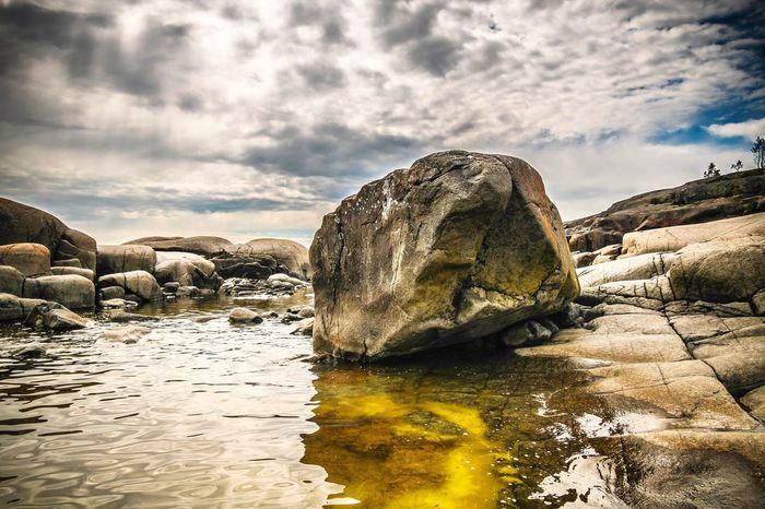 Beauty In Nature Rock - Object Nature Water Rock Formation Sky Scenics Cloud - Sky Outdoors Sea EyeEm Masterclass EyeEm Nature Lover EyeEm Best Shots Canon