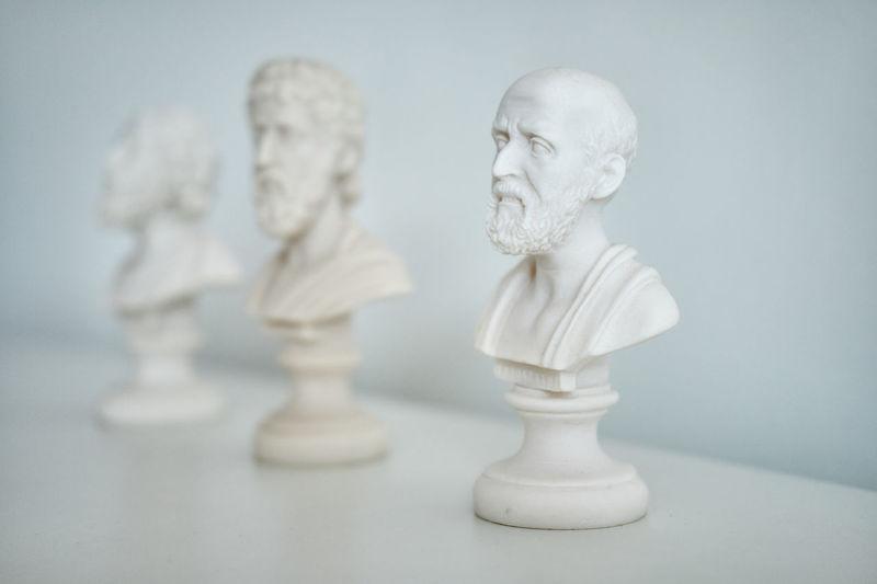 Greek thinkers Thinkers Beard Bust  Close-up Culture Greek HEAD No People Philosopher Statue Writers