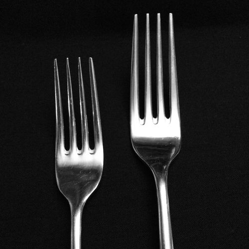 ever wonder whos mouths your silverware have been in? Vscocam Kitchen Utensils Silverware  Blackandwhite