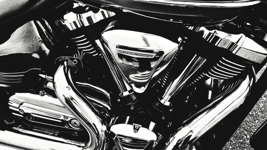 Day Close-up Abstract Photography Abstract Expressionism Metal Chrome Mode Of Transport Land Vehicle Motorcycle Photography Motorcycle Therapy Motorcycle Motorcycle Parts Full Frame Shadow Transportation