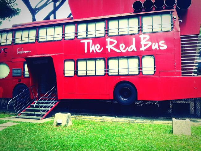 Pin pin... Hey Guys! the red bus is here..wanna get a ride?? Check This Out Taking Photos Urban 4 Filter