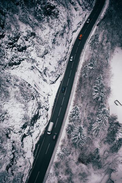 I want the top Fromwhereidrone Street Winter Snow Road Roadtrip Nature Wander