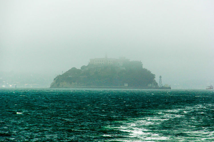 Alcatraz Alcatraz In The Fog Alcatraz Island Eyeem Missions Gangsters Paradise Home For The Gangsters Ice Cold Water  No Escape