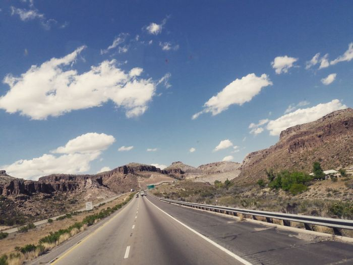 Truckinglife Truckdriver Trucking Road Highway Landscape Cloud - Sky Road Trip Transportation Mountain Winding Road Desert Tree Scenics Outdoors Nature Sky Beautiful Adventure Photography Beautiful Day Amazing View Enjoying Life Perfect Nice Cool