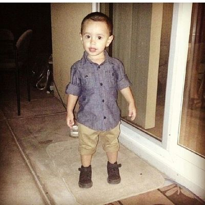 I miss my little man tho. ♡ Bigboyjulian Throwback Stunning Handsome cute little nigguh mypride andjoy daddy lovesyou