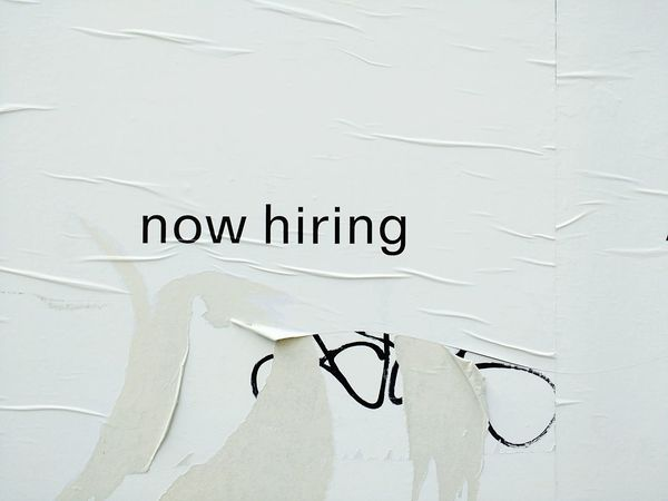 Job Hunting Job Jobless Text Message Paper Close-up No People Focus On Foreground Urbanphotography Signofthetimes Textures And Surfaces Wall - Building Feature Billboard Urban Landscape Hiring Sign Hiringnow Torn Poster Torn Wheatpaste Jobhunt Working Man Forgottenspaces Copywriter Now