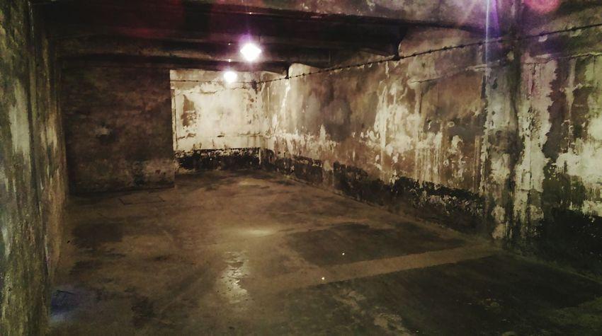 Gas Chamber Konzentrationslager Auschwitz Silence Is A War Crime Poland